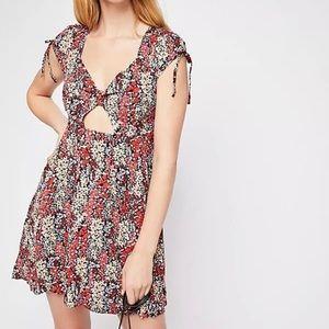 Free People Women sz XS Miss Right Floral Dress